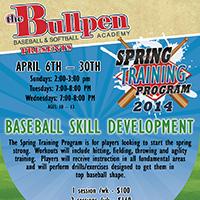 TheBullpen-SpringTrainingProgram